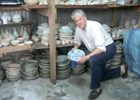 Porcelain salvage storage
